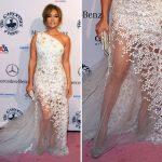 Vestidos de renda Jennifer Lopez