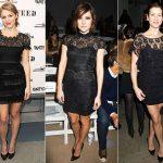 vestidos de renda pretos