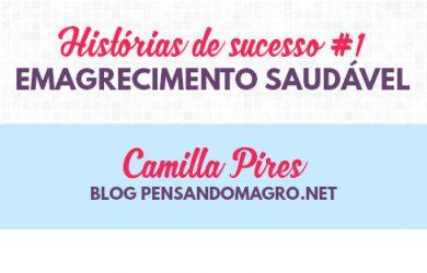 Camilla Pires emagrecimento