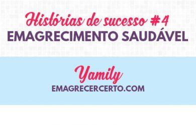 Yamily emagrecimento