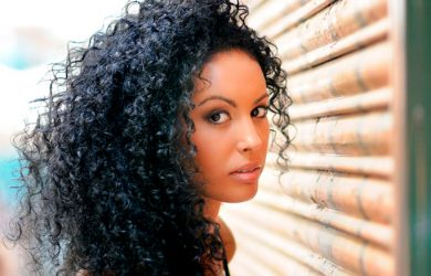 Penteados afro femininos